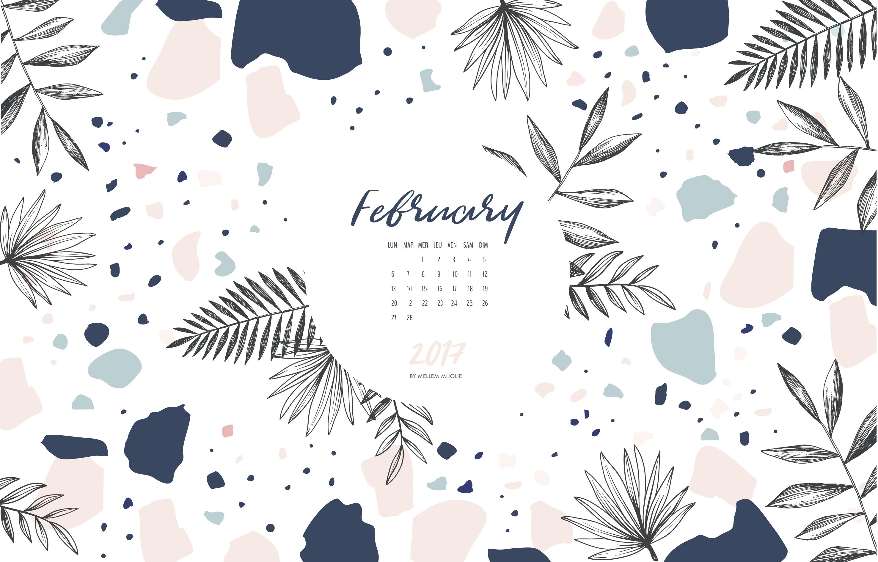 février-CALENDRIER-mellemimijolie