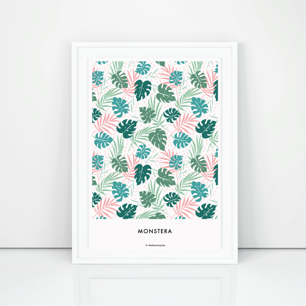 affiches-monstera-mellemimijolie