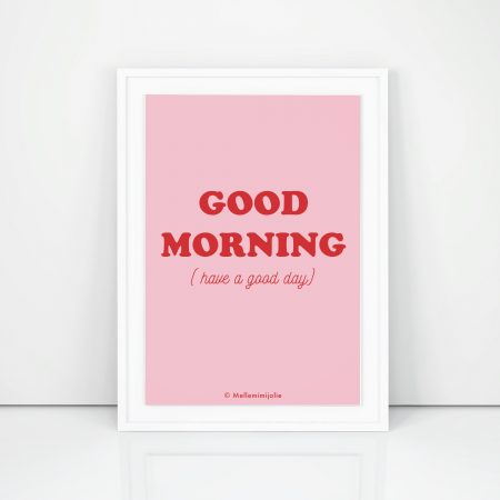 affiches-goodmorning-mellemimijolie