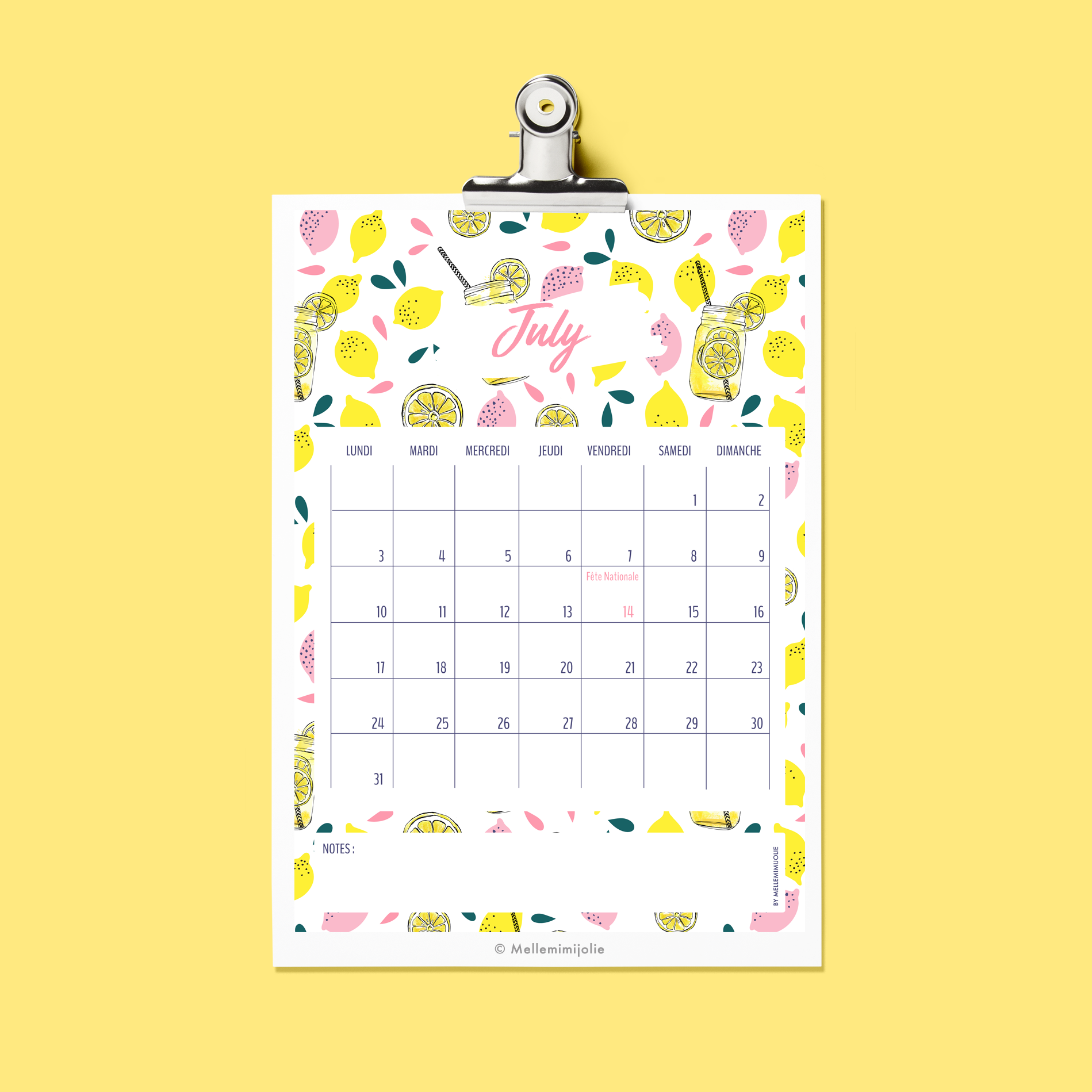mellemimijolie-juillet-calendar