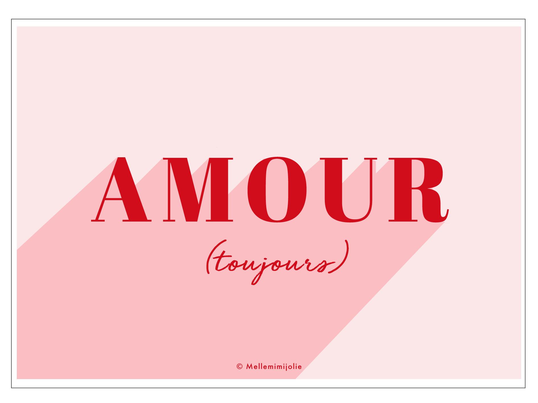 Saint Valentin Des Mots D Amour à Télécharger Mellemimijolie